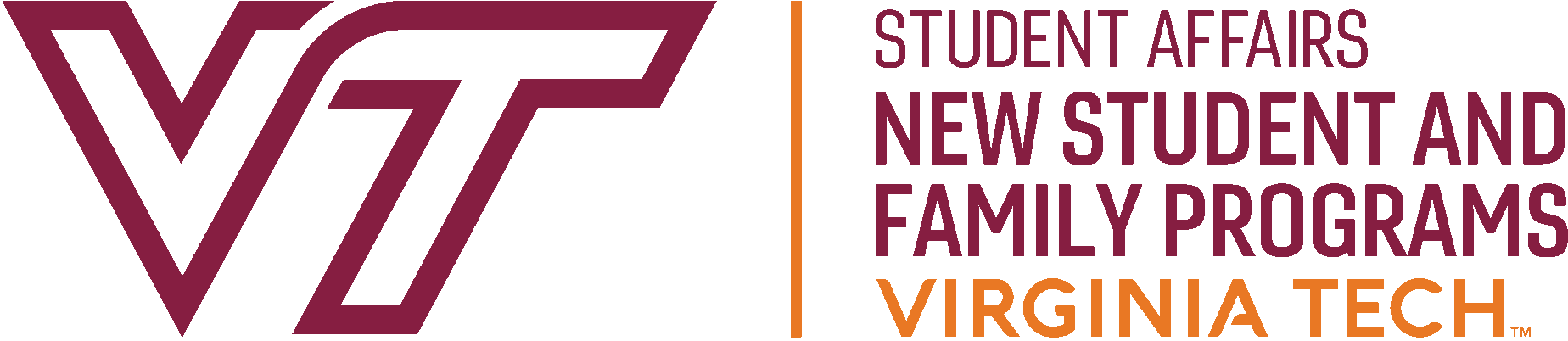 VT new student and family programs logo